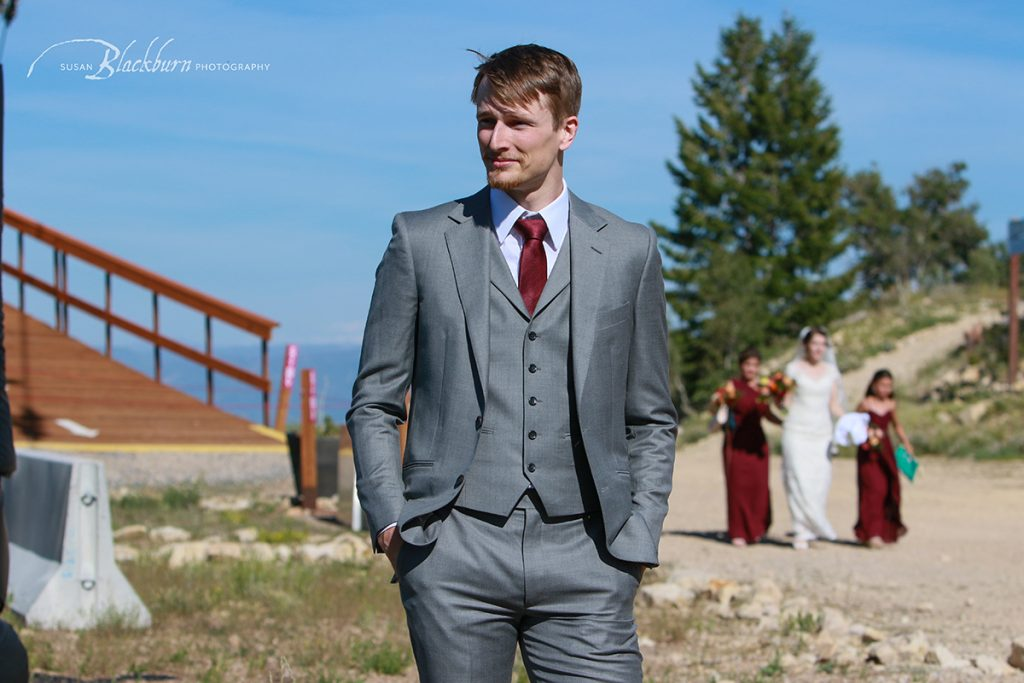First Look Wedding Park City Utah
