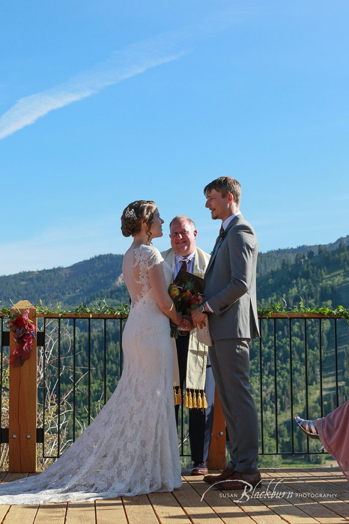 Utah Mountaintop Wedding Ceremony