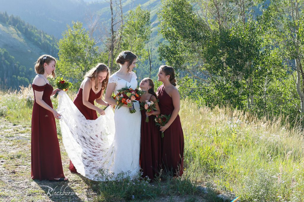 Park City Utah Bridal Party Photo