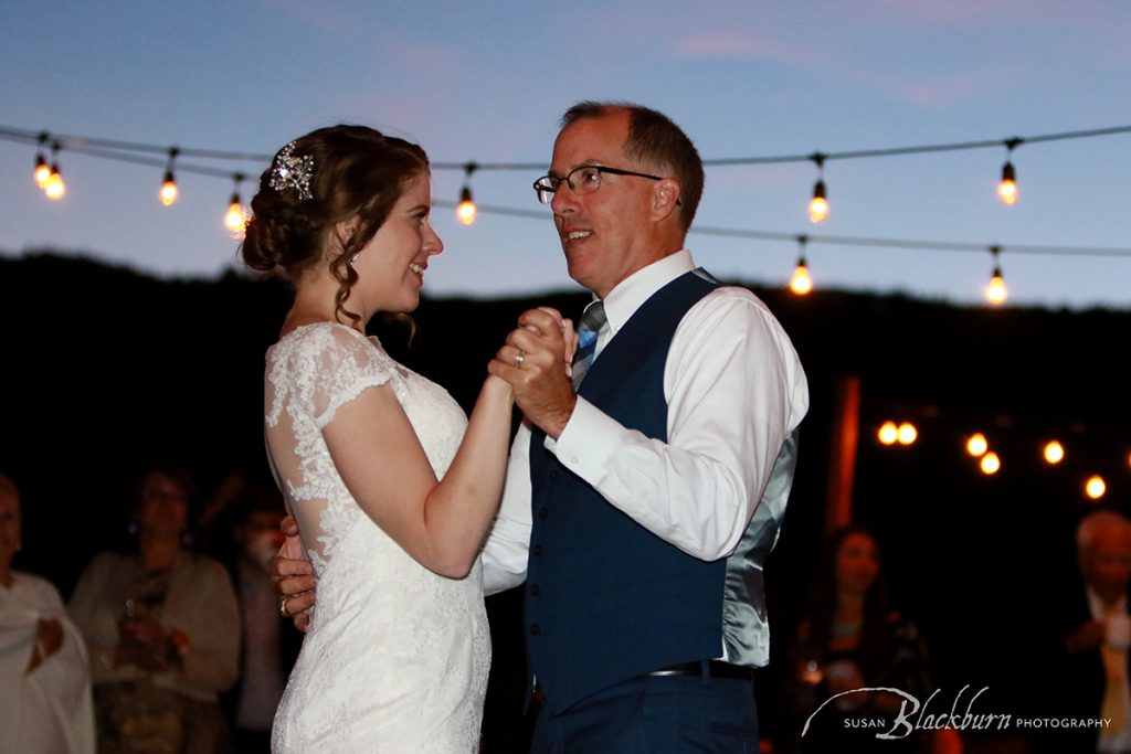 Park City Utah Wedding Reception Photo