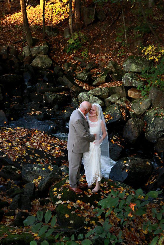 Saratoga NY Fall Wedding Photo