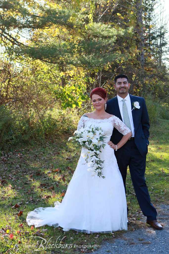Saratoga NY Fall Wedding Photos