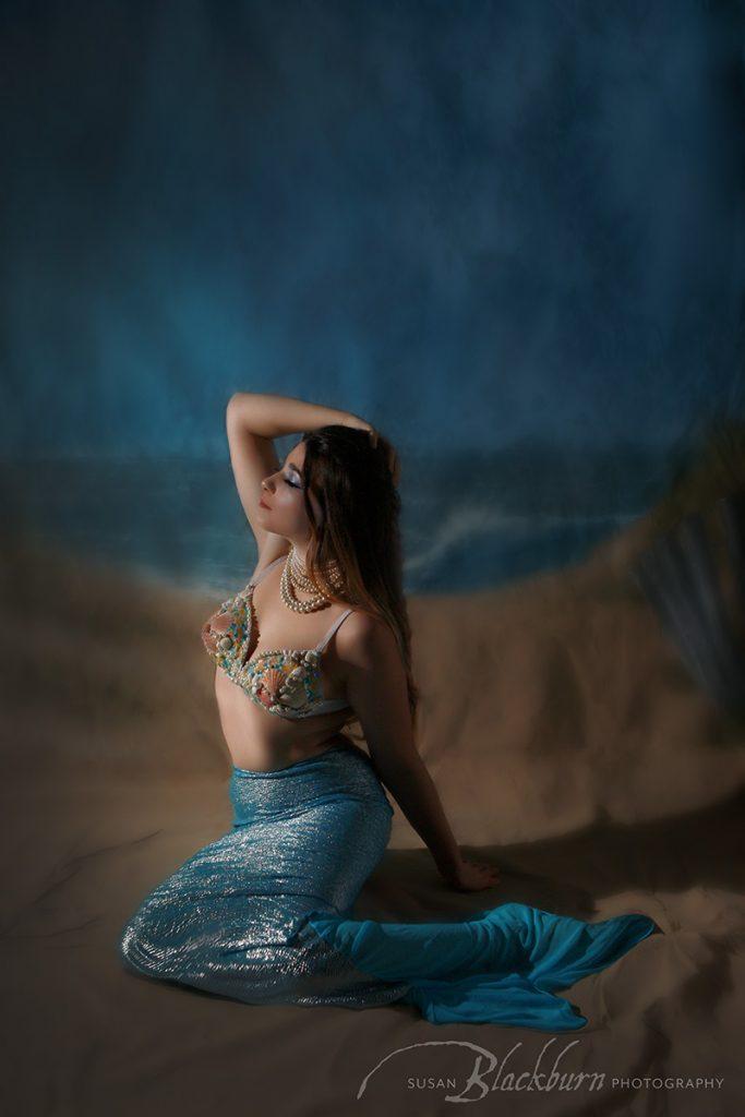 Mermaid Fantasy Beach Photo