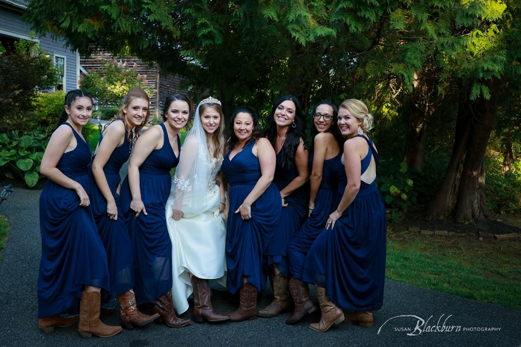 rustic Cowgirl Bridesmaid Photo