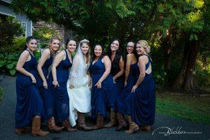 rustic Cowgirl Bridesmaid Photo