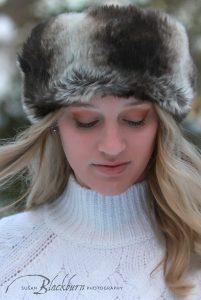 Snowy Senior Portraits