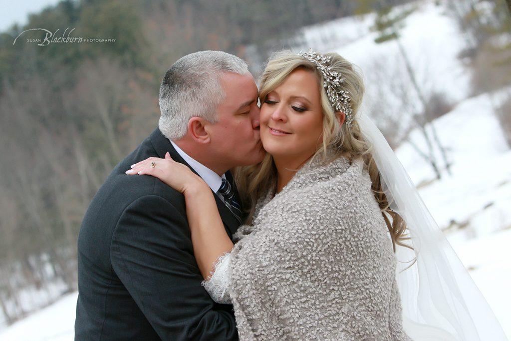 Best Saratoga NY Winter Wedding Photos