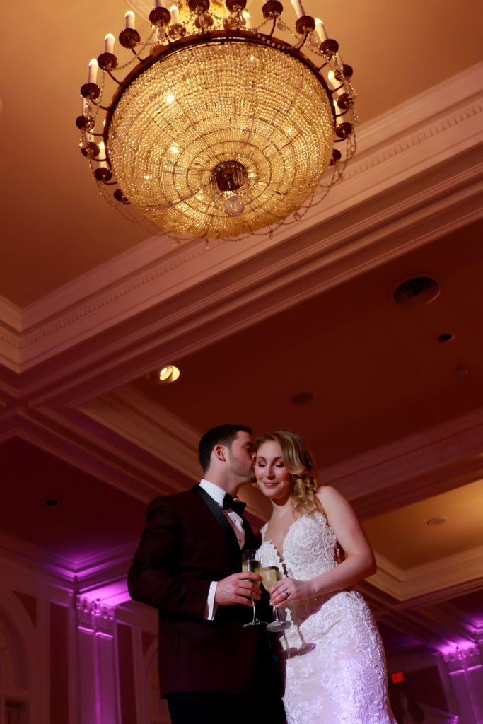 Ballroom wedding photos