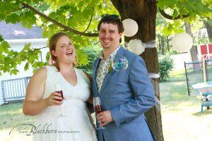 Backyard Micro Wedding Saratoga NY