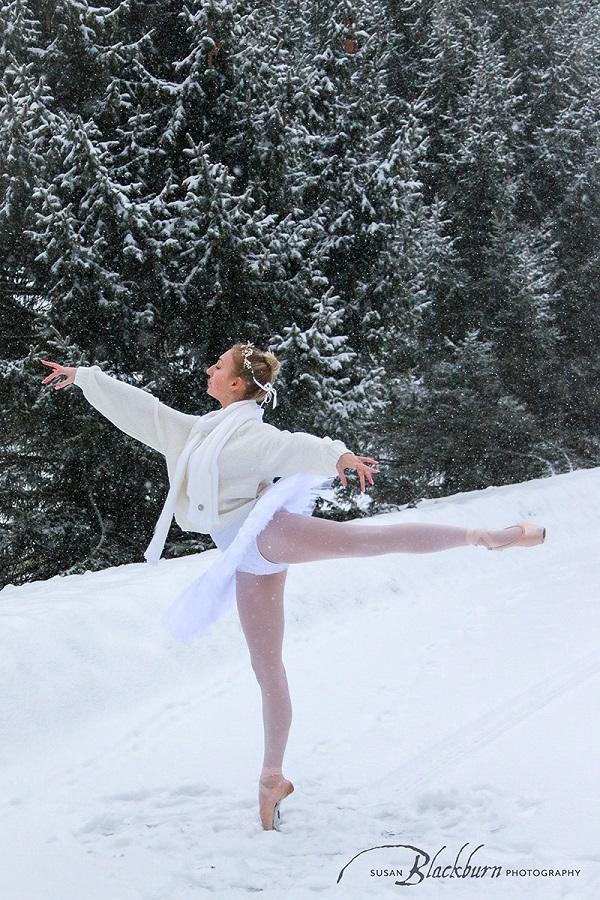 Ballet Dancer Senior Portrait