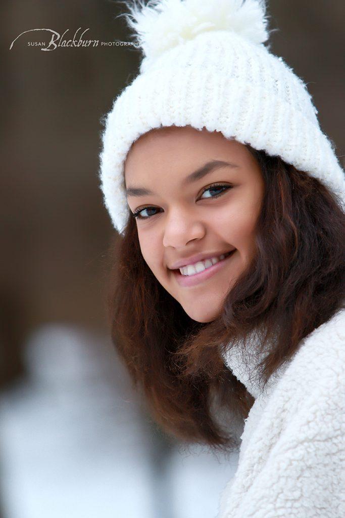 Glens Falls Winter Senior Portraits