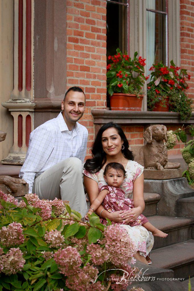 Congress Park Saratoga NY Family Pictures