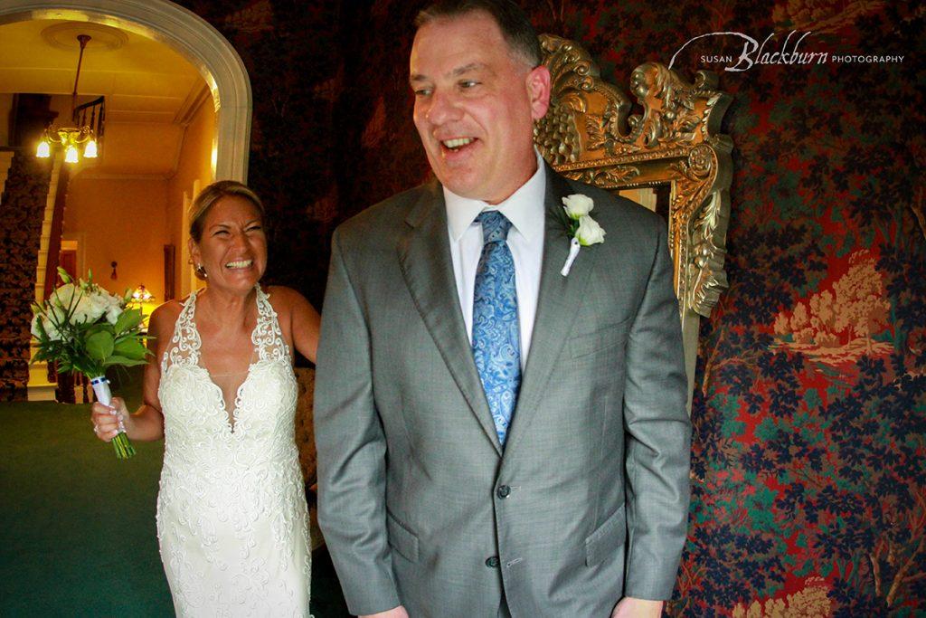 First Look Photo Mansion Saratoga Wedding