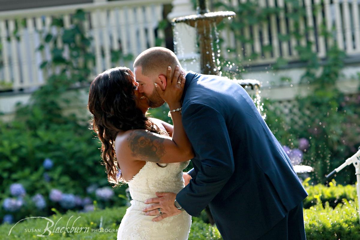 Mansion Saratoga NY Wedding Photo