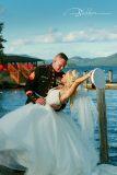 The Boathouse Lake George Wedding Photo